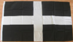 Cornwall Large County Flag - 5' x 3'.